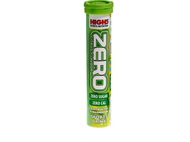 High5 Electrolyte Sportdrank Zero Tabs 20 stuks, Lemon